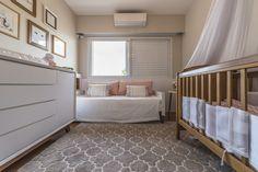 Projeto Interiores - Quarto B&B Quarto de Bebê Menina Baby Decor Decoração Interiores