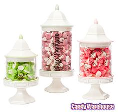Just found Patisserie Pedestal Candy Jars: Set of 3 @CandyWarehouse, Thanks for the #CandyAssist!