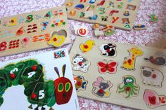 Peg puzzle boards
