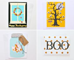 NEW THANKSGIVING & HALLOWEEN SHOP ITEMS Fall Crafts, Halloween Crafts, Diy And Crafts, Thanksgiving Home Decorations, Fall Decorations, Diy Home Decor Projects, Decor Crafts, Shaker Cards, Different Textures