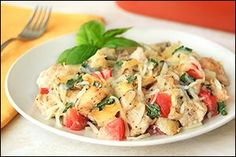 4 SP  Hungry Girl's Italian-Style Chicken Bake