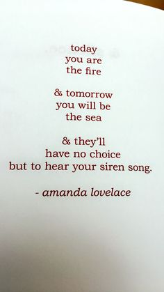 the witch doesn't burn in this one; amanda lovelace
