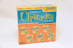 Family Board Games, Family Boards, Charades, Boxes For Sale, Cool Stuff, Check, Cool Things