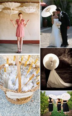 See More White Parasol Wedding Inspiration. Collection Of Images Of Lace Paper Parasols At Weddings. Sun Parasol, Lace Parasol, Wedding Bag, Wedding Ceremony, Umbrella Wedding, Wedding Decorations, Table Decorations, Decorating Blogs, Wedding Inspiration