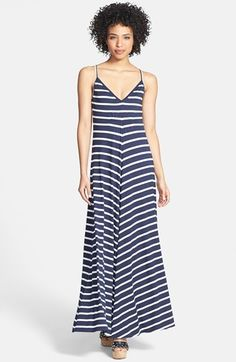 Lamade Stripe Maxi Dress available at #Nordstrom