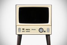 Vintage-style 20-inch Japanese LCD TV