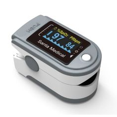 Santamedical SM-165 Finger Pulse Oximeter available on Walmart marketplace in the USA