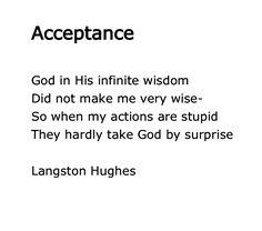 Langston Hughes, Acceptance
