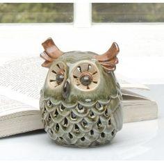 ceramic owl Ceramic Owl, Ceramic Animals, Clay Animals, Owl Decorations, Clay Owl, Owl Cookies, Whimsical Owl, Pottery Animals, Owl Pet
