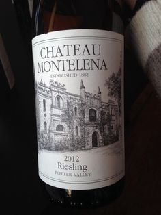 Chateau Montelena Riesling 2012 *Potter Valley *slate and hints of soap on nose *clean and dry *slate on palate *lemon and hint of chalk on finish *great acid - would be great with Asian foods! *delicious! *$22-27