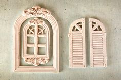 Prima - Resin Collection - Ingvild Bolme - Resin Embellishments - Windows 3 at Scrapbook.com