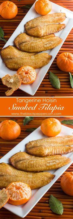 Tangerine and Hoisin Smoked Tilapia