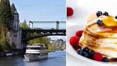 Sunday Brunch Cruise (South Lake Union) @ Waterways Cruises Yacht at South Lake Union Park (Seattle, WA)