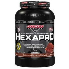 HEXAPRO's 6 highly-bioavailable proteins are fast, medium and sustained release proteins that ensure high amino acid levels with both short and long term delivery. Every protein in this has been carefully selected to accomplish extreme protein integration and absorption. HEXAPRO  is also packed with 5 Amino Acids to enhance recovery, including all 3 BCAAs essential for protein synthesis and providing a rapid energy source for muscles.