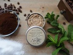 Handcrafted natural soaps and cosmetics Coffee Face Scrub, Natural Face Cream, Organic Coconut Milk, Exfoliating Scrub, Infused Oils, Vegan Soap, Lotion Bars, Sweet Almond Oil, Cocoa Butter