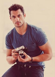 Fall/Winter 2012 Lucky Brand catalog  Model: David Gandy  Check out David's Official Pinterest Boards!