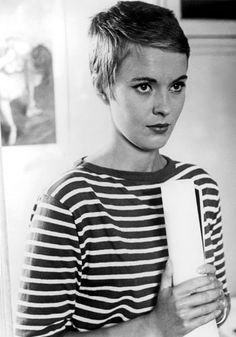 Breathless From her gamine pixie haircut to a wardrobe of breton tops, chinos and