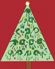 Activities: Christmas Handprint Craft