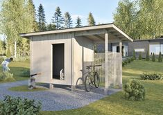 Storage Units, Private Garden, Outdoor Living, Garden Ideas, Shed, Backyard, Outdoors, Outdoor Structures, Home