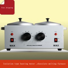 2PC Double water-resisting heated chocolate heatting machine chocolate melt pot maker //Price: $US $146.00 & FREE Shipping //     #kitchenappliances