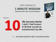 tony dovale - Google Search Mindset, Wish, My Life, Success, Google Search, Attitude