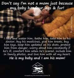 Happy Mother's Day to all the fur moms!