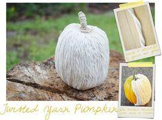 Twisted Yarn Pumpkin