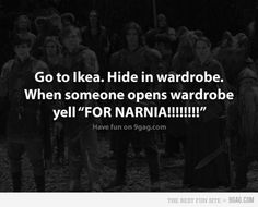 I love Ikea and go there as often as I can sneak out of town... therefore this makes me laugh!
