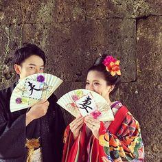雨宿り中にも撮影💕 *** #結婚式前撮り#プレ花嫁#前撮り#castle#沖縄#読谷JOY #ブライダルJOY#ヘア#メイク#沖縄ブライダルJOY#結婚式#沖縄フォトウェディング#ヘアメイク#フォトウェディング#bridaljoy #ブライダルヘア#love #ブライダルヘアメイク#琉球衣装#琉装#うちなーかんぷー#Okinawa#kimono#羽織はかま#扇子#夫#妻#JOYフォトウェディング#ウェディングアイテム#diy