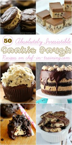 50 Absolutely Irresistible Cookie Dough Recipes