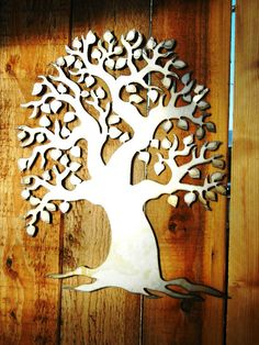 Dream Tree Metal Art for Outoors or Indoors by Steelhouettes
