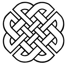 simple celtic knotwork border - Google Search