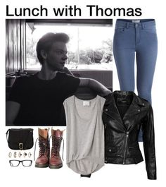 Thomas brodie-sangster <3 by imagine0love0forever on Polyvore featuring polyvore, fashion, style, 3.1 Phillip Lim, VIPARO, Pieces, John Lewis, Forever 21, Tom Ford, Dr. Martens and Paul Brodie