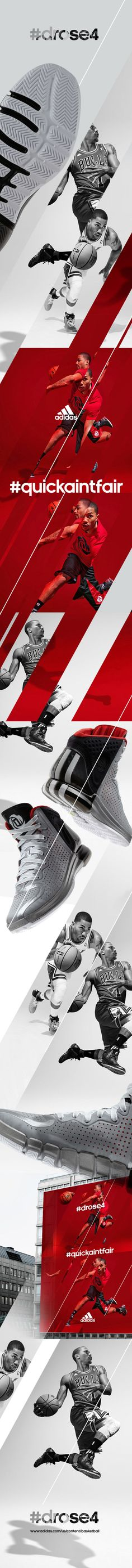 Adidas Drose4 by Julio Ferreira, via Behance