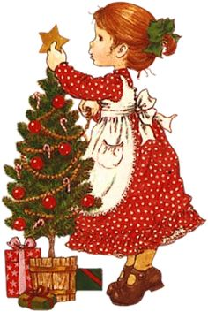 Artwork by Sarah Kay Christmas Clipart, Noel Christmas, Vintage Christmas Cards, Christmas Printables, Christmas Pictures, Vintage Cards, Christmas And New Year, All Things Christmas, Christmas Crafts