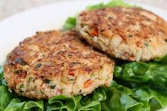 Smart Balance Recipe - Crab Cakes - Thought about my friends Mandy & Kathie P for this recipe - memories of Maine.