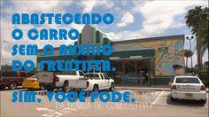 Abastecendo o carro nos EUA Rumo a Orlando Vídeo 3