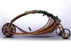 #vivapositivamente no @arqsteinleitao: Triciclo usa crescimento do bambu na produção