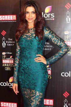 Deepika Padukone @ 19th Annual Colors Screen Awards Red Carpet