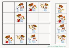 Aquí us deixo els sudokus nadalencs que he preparat per aquests dies. El meus petits estan entusiasmats tot i que encara necessiten una mica... Kindergarten Math Games, Preschool Education, Math Activities, Blends And Digraphs, Magic Squares, Sudoku Puzzles, Folder Games, Noel Christmas, Coloring Book Pages