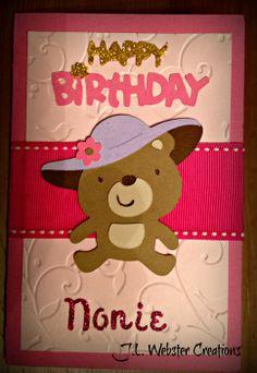 Little Bear Birthday Card