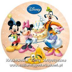083. Fototort z Myszką Mikkie i Minnie. Mikkie and Minnie mouse photocake.