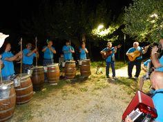 Festa Folk di una Notte di Mezzaestate con I Guje alla terrazza Valle di Gioia - B&B Valle di Gioia - Guglionesi Molise Italia