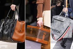 Fall/ Winter 2016-2017 Handbag Trends: Travel Bags