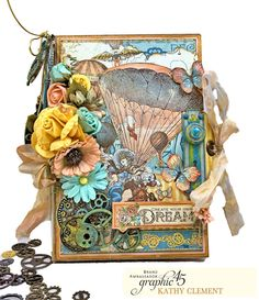 Steampunk Flip Folio: Introducing Folio Champion, Kathy Clement