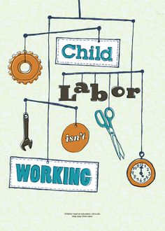 """Labor Mobile"" by Jude Landry (United States). Good50x70. 2009, Child Labour brief."