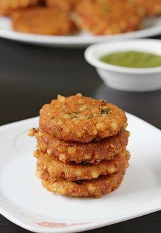 sabudana vada recipe for fasting
