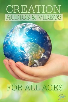 Creation Audios and Videos for all ages - Help your children understand things about Creation in a way that makes learning seem effortless. | www.thejoyinthehome.com