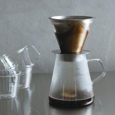 KINTO Kaffeekanne mit Filter Carat 720ml