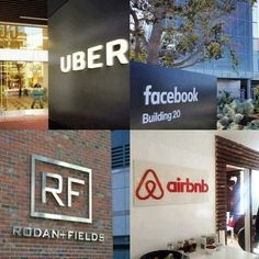 Four Market-Disrupting, San Francisco based companies:   〰 Facebook - Worlds most popular media owner, creates no content. Yet provides platform for business owners to market effectively. 〰 AirBnB - Worlds largest accommodation provider with no Real Estate. Yet creates opportunity for homeowners to make money. 〰 UBER - Worlds largest taxi provider. Owns no cars. But creates opportunity for car owners to make money. 〰 R+F - Among the first to disrupt the market with a social commerce…